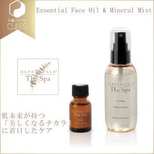 デパスカルザスパ エッセンシャルフェイスオイル&ミネラルミスト DEPASQUALE  The Spa Essential Face Oil & Mineral Mist|apishmono