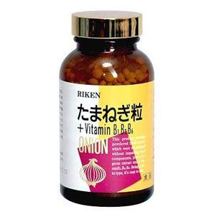 リケン たまねぎ粒 +VitaminB1・B2・B6 1000粒入 1瓶 aplanet