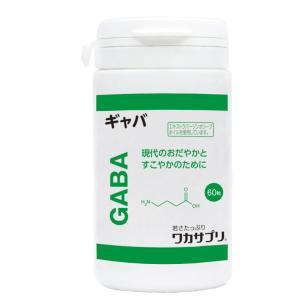 ワカサプリ 「GABA 60粒」 |aplanet