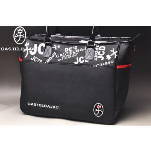 カステルバジャック2019年春夏モデルのメンズキャディバッグ! 光沢の美しい合皮素材を使用したPOP...