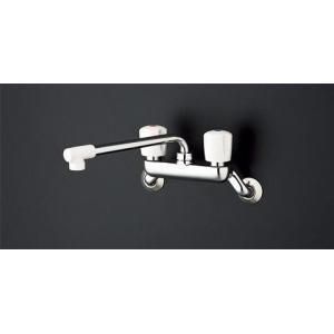 TOTO 壁付 2ハンドル混合水栓(断熱キャップ付) TKJ20AAU aplus-store