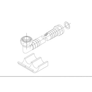 TOTOネオレストDタイプ用 オプション給水ホース700mmTN111L70 aplus-store