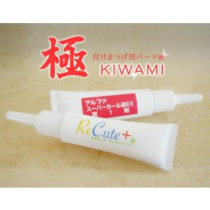 付けまつげ用パーマ液 極 KIWAMI|aplusv