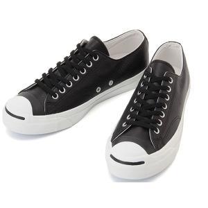 CONVERSE JACK PURCELL SRK LEATHER II 1CK619 コンバース ジャックパーセル SRK レザー2 ブラック メンズスニーカー|aply-shoes
