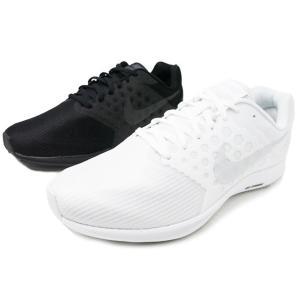 NIKE DOWNSHIFTER 7 4E 852460-100 852460-001ナイキ ダウンシフター7 ホワイト ブラック 幅広4E EEEE メンズ スニーカー 運動靴 ランニングシューズ|aply-shoes
