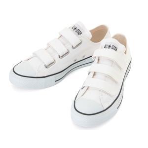 CONVERSE ALL STAR V-3 OX コンバース オールスター V-3 OX ホワイト ベルクロ|aply-shoes