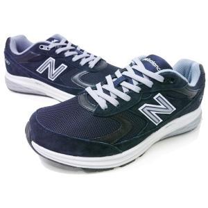 newbalance MW880 4E NA3 NAVY/GRAY ネイビー/グレイ ニューバランス 幅広4E(EEEE)ウォーキングシューズ メンズ スニーカー 紳士靴|aply-shoes