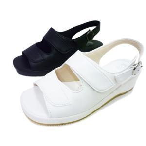 Pansy パンジー サンダル BB5303 ホワイト ブラック レディースサンダル 白 黒オフィスサンダル ナースサンダル ナースシューズ 婦人用 レディース 婦人靴 aply-shoes