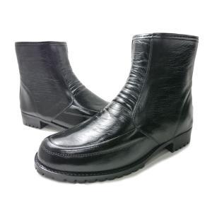 アキレス コザッキー TWG3180 G-318 コザッキーショート ブーツ ビジネスシューズ幅広3E(EEE)