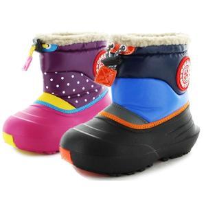 オシュコシュ ブーツ OSHKOSH OSK WC141 ブラック ピンク スノーブーツ キッズブーツ 防寒ブーツ 防水ブーツ  スノーシューズ レインブーツ 長靴|aply-shoes