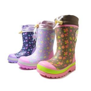 オシュコシュ ラバーブーツ OSHKOSH OSK WC147R 女の子 冬用 レインブーツ スノーブーツ 子供用長靴 子供靴 キッズ用長靴 防水・防寒|aply-shoes