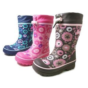 オシュコシュ ラバーブーツ OSHKOSH OSK WC157R 女の子 冬用 レインブーツ スノーブーツ 子供用長靴 子供靴 キッズ用長靴 防水・防寒|aply-shoes