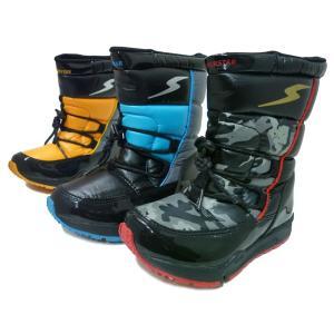 スーパースター バネのチカラ SUPER STAR  SS WPC46SP スパイク付きスノーブーツ 子供用 ウインターシューズ 防寒ブーツ キッズブーツ 長靴|aply-shoes