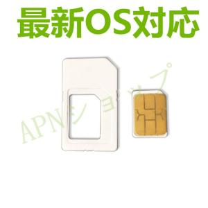 Docomo iPhone6/6 Plus/6s/6s Plus/7/7 Plus用 NanoSIMサイズカード アクティベートカードactivationアクティベーション【クロネコDM便送料無料】|apnshop