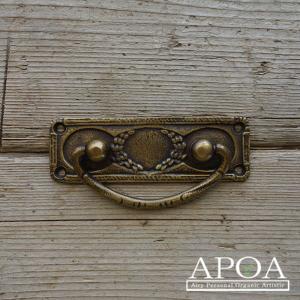 真鍮取っ手 iron-a052 部品 DIY リメイク 手作り 引き出し レトロ おしゃれ 装飾  扉|apoa