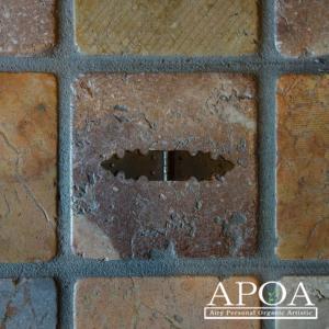 蝶番 丁番 真鍮製 金具 V.087 アンティーク風 レトロ DIY 扉|apoa