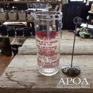 コップ、グラス Horlicks ホーリック ミキシンググラス L2|apoa