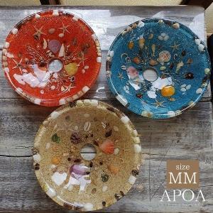 貝殻の洗面ボウル MMサイズ 貝殻 リゾート風 オリジナル 樹脂製 洗面ボウル apoa