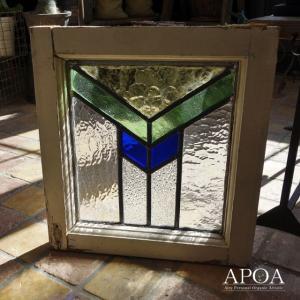 オブジェ、置き物 アンティーク  ステンドグラス042|apoa
