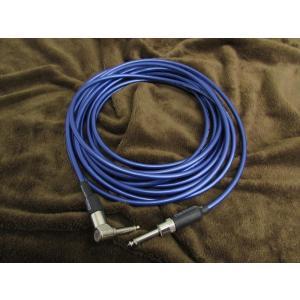 【正規輸入品】Alessandro High-End Product Instrument Two Midnight Blue Cable 10ft (約3m) L/S (アレッサンドロ シールド)|apollon