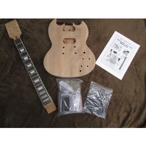 【HOSCO】【手作りギターキット♪】エレキギターキットSGタイプ ER-KIT-SG