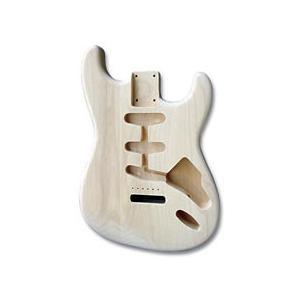 Hosco エレキギターボディー STタイプ アルダー 未塗装 HBD-11|apollon