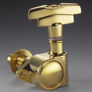 Schaller M6 Vintage #5622/S/G (3L/3R 6個セット) ステップボタン 【シャーラー ペグ】