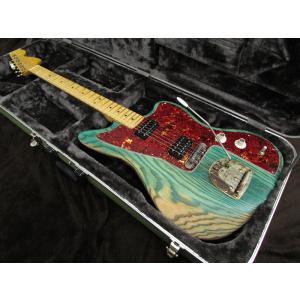 Dan Wolf Guitars DWG Custom Jazzmaster Style Ash Green (ダンウルフギターズ JM-Type)|apollon