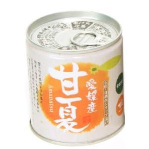 愛媛産柑橘缶詰 甘夏シラップづけ 5号缶 295g×6個セット apotheke