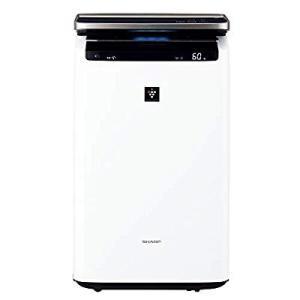 シャープ プラズマクラスターNEXT(50000)搭載 加湿空気清浄機 ホワイト KI-HP100-...