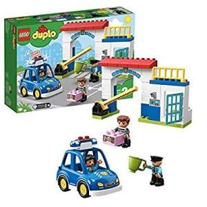 レゴ(LEGO) デュプロ 光る! 鳴る! ポリスカーとポリスステーション 10902 知育玩具 ブ...