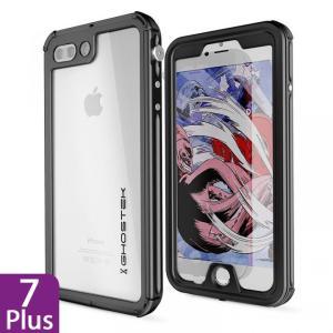 iPhone 8 Plus/7 Plus 防水IP68準拠 アルミ合金ケース Atomic3.0 ブラック|appbankstore