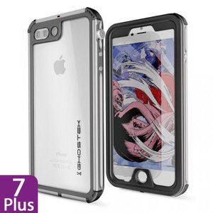 iPhone 8 Plus/7 Plus 防水IP68準拠 アルミ合金ケース Atomic3.0 シルバー|appbankstore