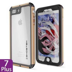 iPhone 8 Plus/7 Plus 防水IP68準拠 アルミ合金ケース Atomic3.0 ゴールド|appbankstore