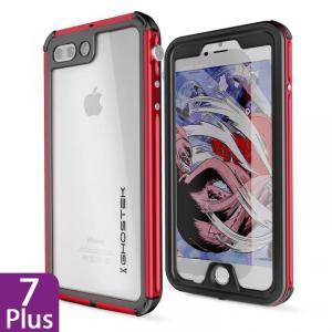 iPhone 8 Plus/7 Plus 防水IP68準拠 アルミ合金ケース Atomic3.0 レッド|appbankstore