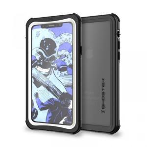 iPhoneX ケース 耐衝撃 GHOSTEK Nautical for iPhone X IP68防水防塵タフネスケース ゴーステック ノーティカル ホワイト appbankstore