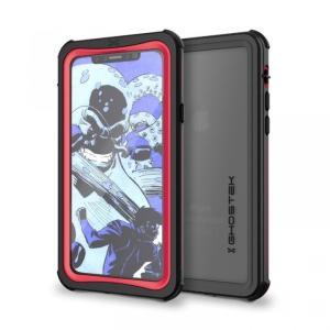iPhoneX ケース 耐衝撃 GHOSTEK Nautical for iPhone X IP68防水防塵タフネスケース ゴーステック ノーティカル レッド appbankstore