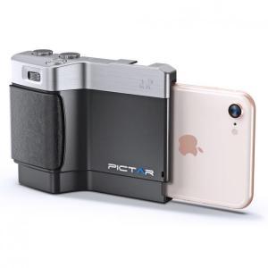 iPhone用カメラグリップ Pictar One Mark II Black iPhone 8/7...