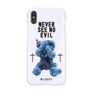MILKBOY ミルクボーイ ハードケース Gizmobies SEE NO EVILBEARS WH iPhone XS/X(8月31日入荷予定)|appbankstore
