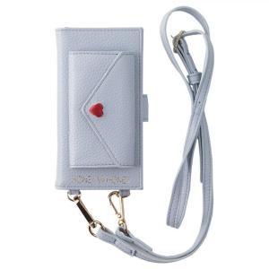 HONEY MI HONEY LETTER BOOK ポケット付手帳型ケース パープル iPhone 8/7/6s/6(7月10日入荷予定) appbankstore