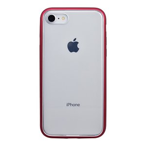 iPhone8 ケース カバー アイフォン8 パワーサポート Shock proof Air jacket ラバーレッド iPhone 8|appbankstore