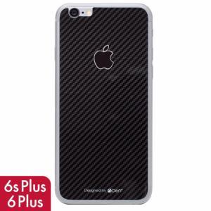 iPhone6s Plus iPhone6 Plus 背面保護 強化ガラスフィルム 0.33mm Deff 背面強化ガラス ブラックカーボン|appbankstore