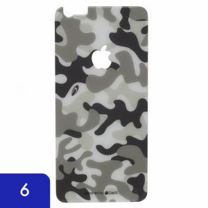 iPhone6s iPhone6 背面保護 強化ガラス Deff カモフラ 雪|appbankstore