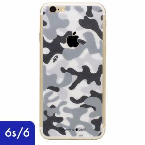 iPhone6s iPhone6 液晶保護 強化ガラスフィルム 0.33mm Deff 背面強化ガラス 迷彩/雪原|appbankstore