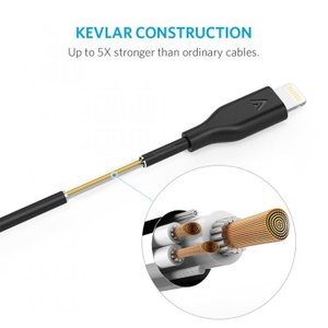 [30cm]Anker PowerLine LightningUSBケーブル ブラック|appbankstore