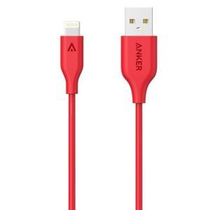 Anker PowerLine Lightningケーブル レッド 90cm|appbankstore