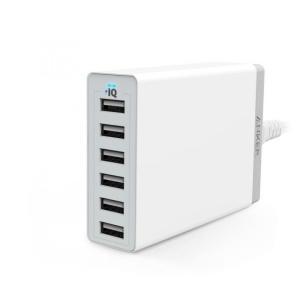 Anker PowerPort 6 6ポートUSB急速充電器 ホワイト