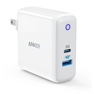 Anker PowerPort ll PD USB急速充電器 1ポートPD  1ポートPowerIQ...