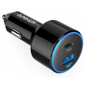 Anker PowerDrive Speed+ カーチャージャー 2-1 PD & 1 Po...