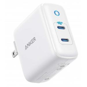 Anker PowerPort III Duo 2ポートUSB急速充電器 ホワイト